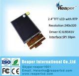 """2.4 """" 240*320 Spi Schnittstelle TFT LCD mit widerstrebendem Touch Screen"""