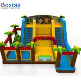 Het springende Opblaasbare Bouncy Kasteel van het Kasteel, de Opblaasbare Dia Combo van de Uitsmijter