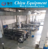 Automatischer Compunding Produktionszweig in der Kunststoffindustrie