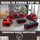 Le classique de luxe de type européen conçoit le sofa de salle de séjour