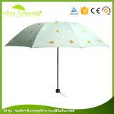 Parapluies blancs les meilleur marché promotionnels de la qualité 21inch