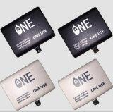 Desechables de 1000mAh cargador de móvil Banco de potencia emergente para uso universal