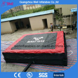 Cuscino di salto dell'aria gonfiabile eccellente per giochi gonfiabili di sport del sacchetto di aria di salvataggio di corsa con gli sci i grandi