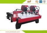 高精度6空気冷却スピンドル中国が付いている木製CNCのルーター機械