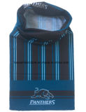 Le produit d'usine a personnalisé le Bandana bleu de polyester de Microfiber de but multi d'impression de modèle