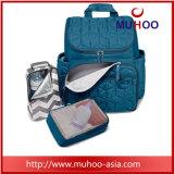 Efectuar Viagens preto Saco mochila de fraldas para bebé com Painéis