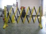 Barrière extensible économique de route de circulation de barrière en plastique de sécurité routière