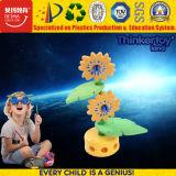 Tren grande del juguete de los bloques educativos coloridos de la alta calidad DIY