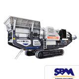 Motor diesel de la trituradora de quijada de la venta caliente de Sbm PE900*1200 pequeño, planta primaria de la piedra caliza