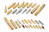 良い品質の精密中国の工場の細長い真鍮の接触ピン