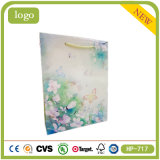 Green Butterflies Dreamlike Flowers Sweet Candy Shopping Gift Bag