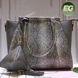 Sacchetti animali dell'unità di elaborazione del reticolo della nuova borsa delle donne eleganti con una piccola borsa dal fornitore Sh323 di Guangzhou