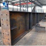 Viga soldada aduana de H para el edificio de la estructura de acero