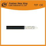 Cobre de la serie el 100% de la buena calidad CATV Rg cable coaxial Rg11 de 75 ohmios para las ventas