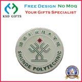 Impreso de acero inoxidable elementos de promoción barata insignia de solapa