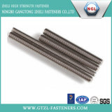Aço inoxidável 316/304 de linha rosqueada cheia Rod do parafuso