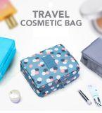 Il trucco impermeabile del nuovo di marca sacchetto cosmetico portatile dell'articolo da toeletta compone la borsa Dropshipping del kit di corsa del sacchetto di memoria dell'organizzatore della lavata