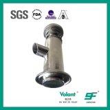 Sanitaire Vastgeklemde het Bemonsteren van het Roestvrij staal Yoghurt Klep