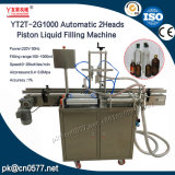 Máquina de enchimento líquida do pistão Yt2t-2g1000 automático para bebidas