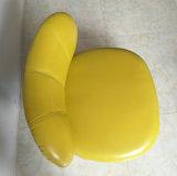 Mobília de couro da entrada do hotel do sofá de Italy do lazer (C1708)