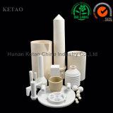Parte di ceramica della piastra tubiera dell'allumina di elevata purezza 95-99.9% dell'allumina di ceramica del Rod