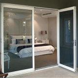Salto térmico de la puerta de seguridad de aleación de aluminio con rejas