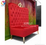 Queenフォーシャンの家庭的な家具の卸売王の二重シートの王位の結婚式の椅子