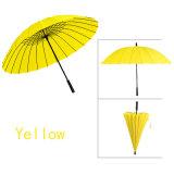 ombrelli Guarda Chuva Paraguas Parapluie Sombrinha dell'ombrello del bastone da passeggio del parasole dell'ombrello delle donne 24K anti della pioggia della pioggia maschio delle donne