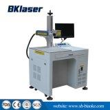 Fibra de CNC marcadora láser para placa de metal