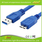 Câble de caractéristiques du prix bas 3.0 USB d'usine pour l'appareil-photo