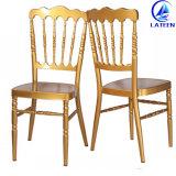 판매 연회 결혼식 금속 알루미늄 Chiavari 의자를 겹쳐 쌓이기