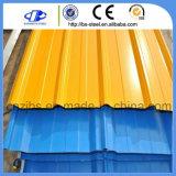 PPGI PPGL strich farbiges gewölbtes Dach-Blatt vor