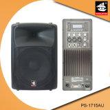 15 Spreker pS-1715au van de FM van de duim USB BR de Plastic Actieve 200W