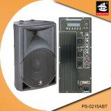 15 Spreker van Bluetooth van de Macht van de duim de Professionele 200W Plastic Actieve met FM pS-0215abt