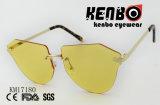 Безрамные солнечные очки с треугольником наконечник км17180