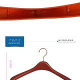 Ganci di cappotto di plastica dell'amo del metallo dell'oro di prezzi della Cina per i vestiti