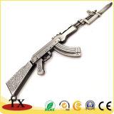 Loja AK-47 Espingarda Chaveiro de metal para pistola de modelo de brinquedos