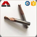 Bille en carbure Bronze-Colored Hot Sale nez fin Outils de fraisage
