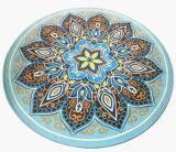Estera redonda de la yoga de la mandala para la estera de la meditación