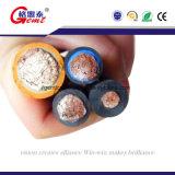 Multi, котор сели на мель двойная резина изолировала изолированный PVC гибкий кабель заварки
