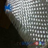 Ткань 400g c стеклянной сплетенная стеклотканью ровничная ясно