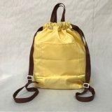 Imprimés promotionnels en nylon polyester Cheap Sport sac à dos Sac avec lacet de serrage