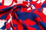 100% Silk Entwurfs-Form-Dame Scarf mit gedrucktem Schal
