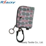 Nouveau design Housse portefeuille à fermeture éclair/purse portefeuille avec polyester 230D