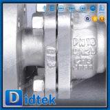 Vávula de bola asentada metal seguro de flotación del molde CF3 del fuego de Didtek