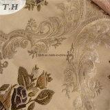Tissu 100% d'armure de polyester pour les modèles de sofa de tissu de jacquard (FTH32084)