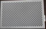 На складе 0.5td0.5*P1.5mm SUS304 перфорированной металлической пластины