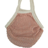 Einzelner Satz-organischer Baumwollnetz-Einkaufen-Ineinander greifen-Erzeugnis-Beutel