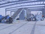 Secador de vários estágios da correia para o material da fibra