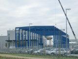 Edificio popular de la erección de la estructura de acero de la luz del estilo para el almacenaje